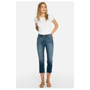 NWOT Johnny Was Mid Rise Cropped Denim Jeans